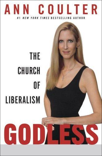 Dust Jacket of Godless by Ann Coulter